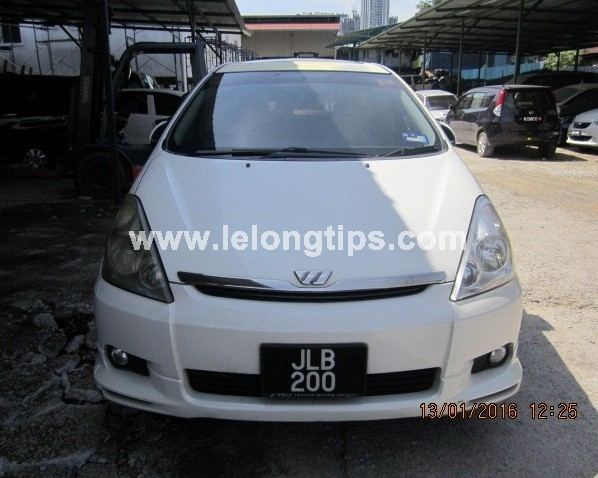TOYOTA Wish 1.8 | Lelongtips.com.my