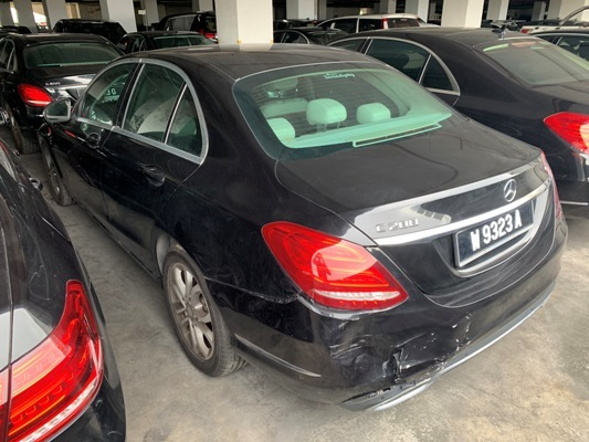 MERCEDES BENZ C200 MB W205 | Lelongtips.com.my