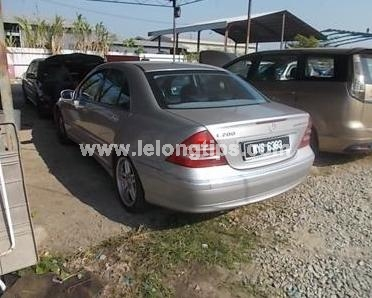 MERCEDES Benz C200K Auto Price To be Confirm auction on 2016