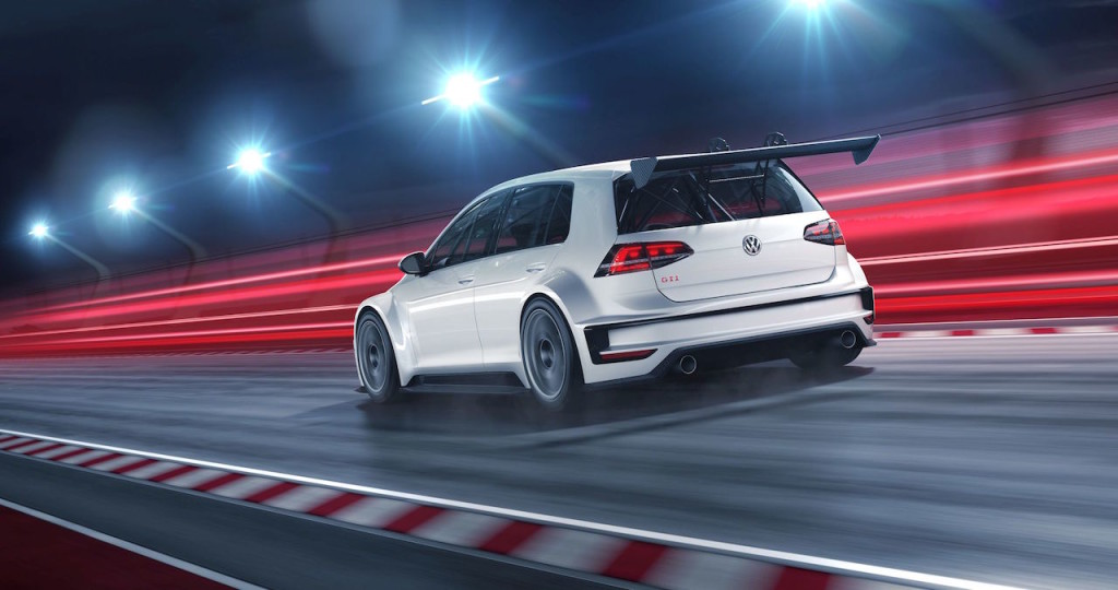 Track-Only Volkswagen Golf GTI TCR Unveiled   LelongTips com my
