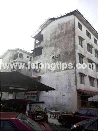 Block Melor (P), Dahlia Apartment, Jalan Desa 5/3, Bandar Country Homes, Fasa 5C, 48000 Rawang, Selangor | Lelongtips.com.my