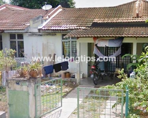 Lelong Auction 1 Storey Terrace House in Port Dickson