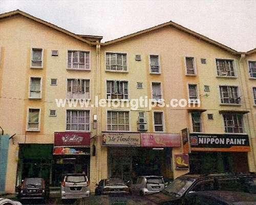 Block N  Jalan Plumbum V 7 V  Pusat Komersial Seksyen 7  40000. Lelong Auction Apartment in Shah Alam  Selangor   RM 170 000 on
