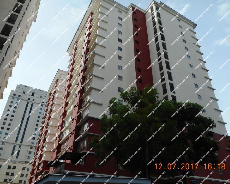 Lelong Auction Lumayan Apartment In Kuala Lumpur Rm 310 500 On 2017 08 24