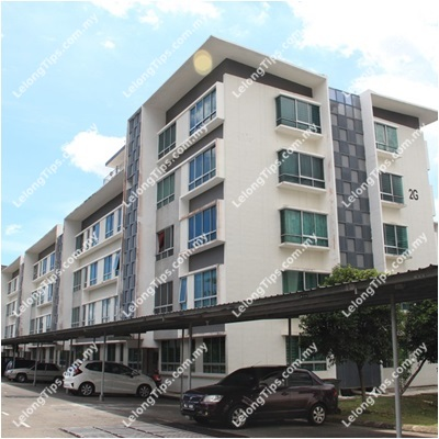 First Level, Block 2G, Lorong Kondominium Apartment Universiti 2/11, University Condominium Apartments 2, Menggatal, Off Jalan Tuaran, 88450 Kota Kinabalu, Sabah | Lelongtips.com.my