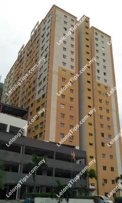 17th Floor Block B Pangsapuri Palm Garden Persiaran Bukit Raja Bandar Baru