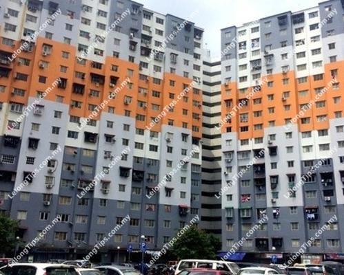 Block D Pangsapuri Sri Penara Jalan Permaisuri 1 Bandar