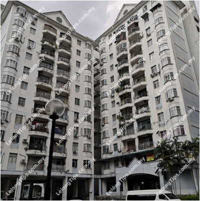Block C Delima Tasik Heights Apartment No 6 Jalan Liku