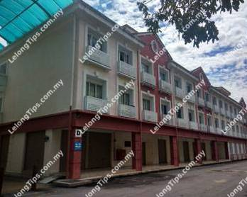Second Floor, Block H (Currrently renamed to Block D), Laketown Serviced Apartments, Bukit Merah Laketown Resort, 34400 Semanggol, Perak | Lelongtips.com.my