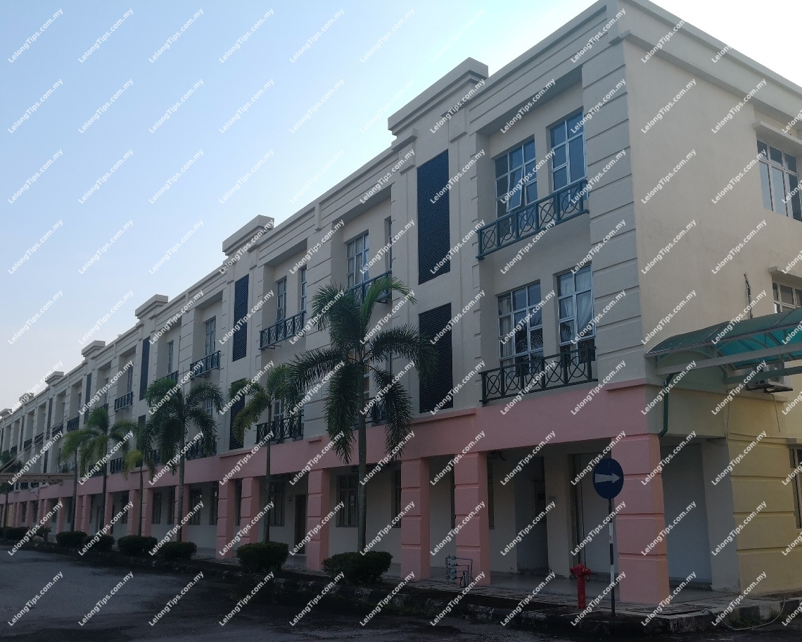 Block B, 2nd Floor, Palm View Serviced Apartments, 34400 Bukit Merah Laketown, Perak | Lelongtips.com.my