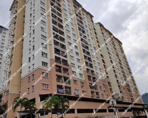 Block B, Apartment Lake View, Taman Jasa Perwira, Off Jalan Sungai Tua, 68100 Batu Caves, Selangor | Lelongtips.com.my