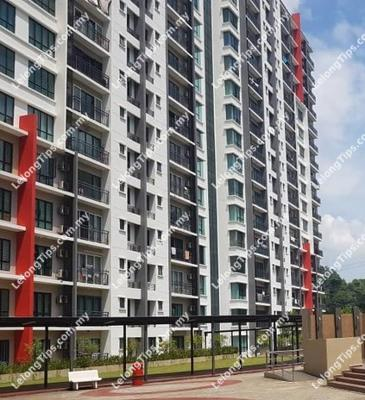 Level 3, Block A, V-Residensi @ Selayang Height, Persiaran Selayang Height, 68100 Batu Caves, Selangor | Lelongtips.com.my
