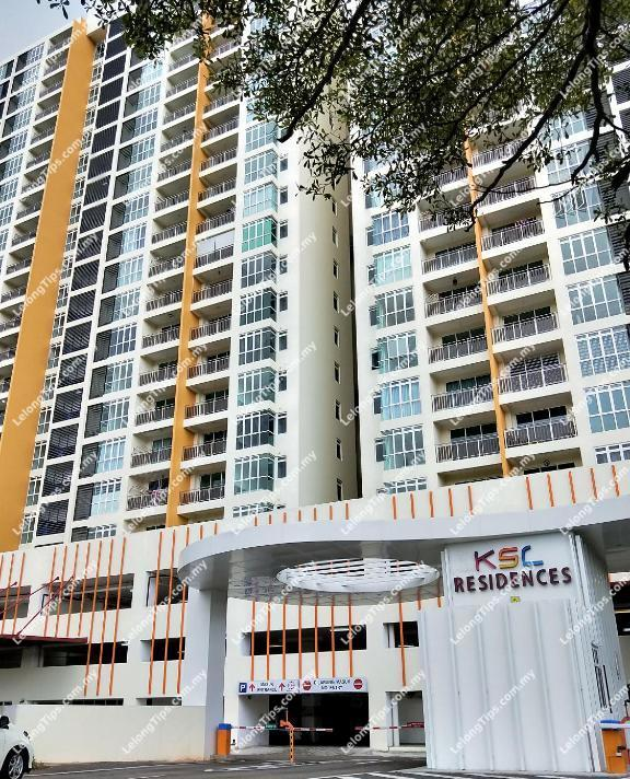 Tower A, Residensi KSL (also known as KSL Residences @ Daya), Jalan Delima 3/2, Taman Delima 1, 81100 Johor Bahru, Johor | Lelongtips.com.my